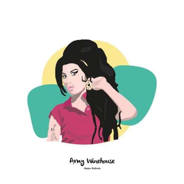 Lamina-Amy-Musica-Ilustrada