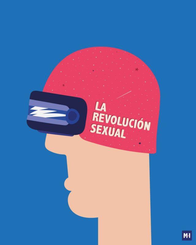 lamina revolución sexual música ilustrada la casa azul