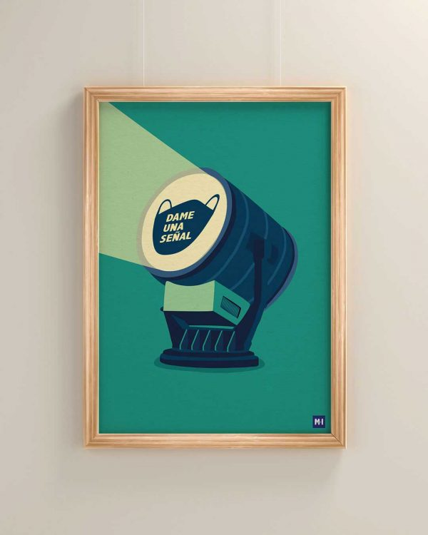 lamina señal música ilustrada